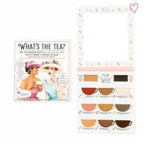 The Balm What's The Tea? Warm Palette
